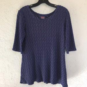 Tianello by Steve Barraza Purple Tunic Dress M